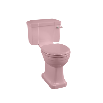 Close coupled toilet - Confetti Pink