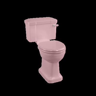 Duoblok toilet met reservoir - Confetti Pink