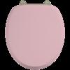 BB Edwardian Bespoke Toiletzitting softclose met 'Confetti Pink' finish