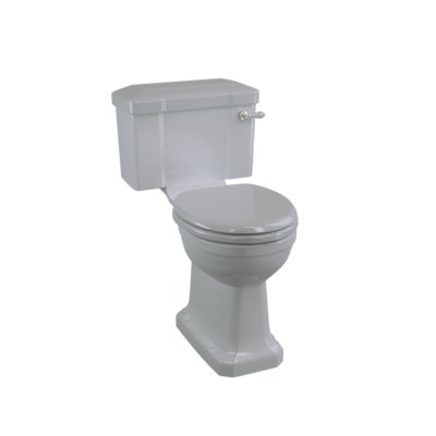 Close coupled toilet - Moon Grey