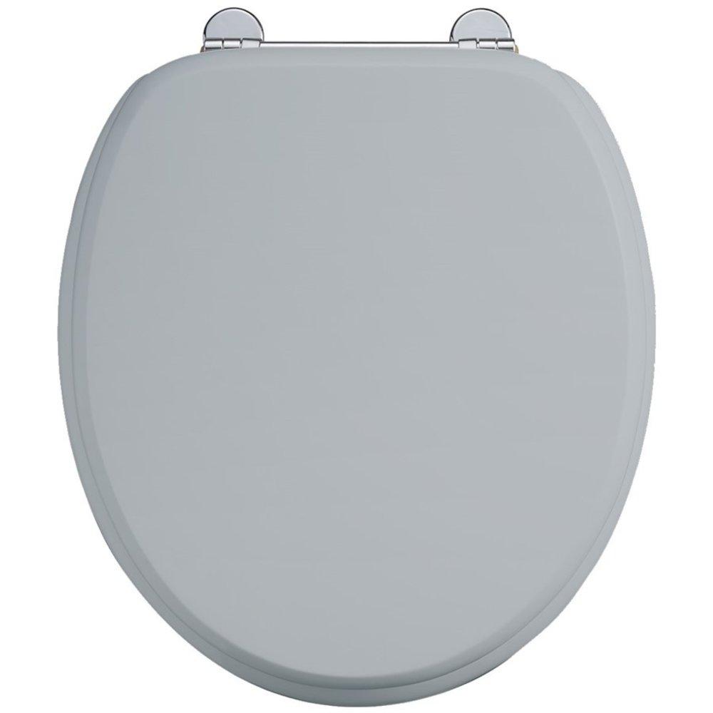 BB Edwardian Bespoke Toiletzitting softclose met 'Moon Grey' finish