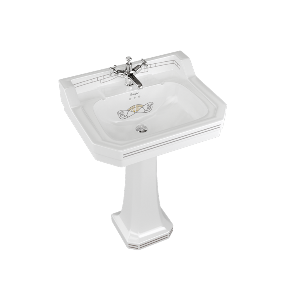BB Edwardian Bespoke Edwardian Bespoke 62cm basin Martinez with pedestal