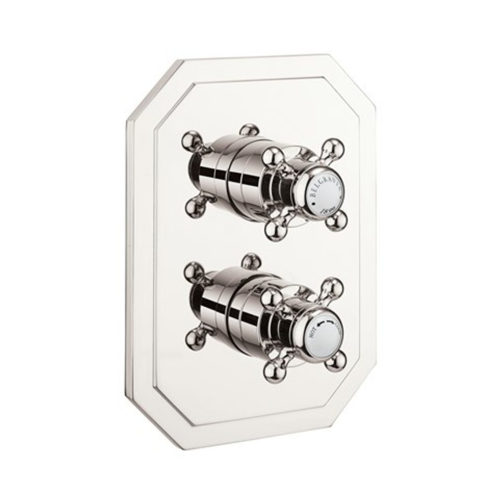 Belgravia Belgravia concealed shower thermo Crossbox 2 Outlet CB1500LBP