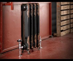 Nostalgische Gietijzeren Radiator Met Bloemmotief Art Deco 649 Theclassichouse De Klassieke Badkamer En Keuken Specialist