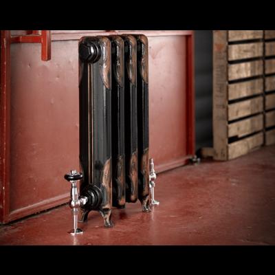 Gietijzeren radiator Art Deco 649