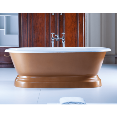 AR cast iron bath 'Chaumont'