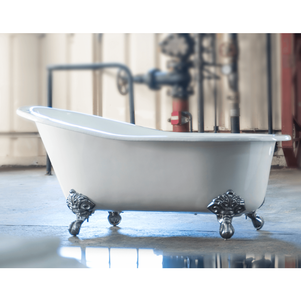 Arroll Freestanding cast iron bath with feet 'Bordeaux'  - 1560