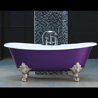 AR cast iron bath 'Milan'