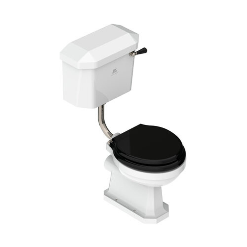 Lefroy Brooks 1900 Classic LB Classic Charterhouse toilet met halfhoog reservoir