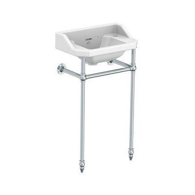 LB Charterhouse cloakroom basin with stand