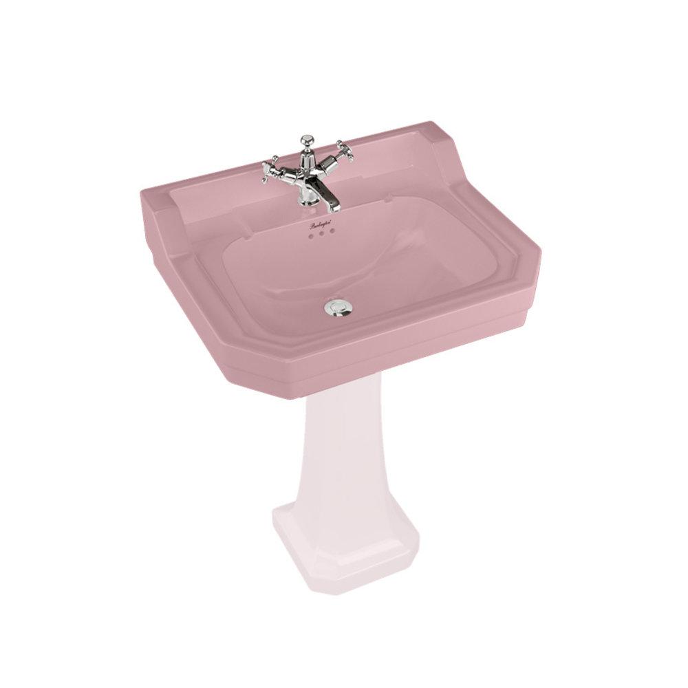 BB Edwardian Bespoke Edwardian Bespoke 62cm  basin Confetti Pink - wall mounted