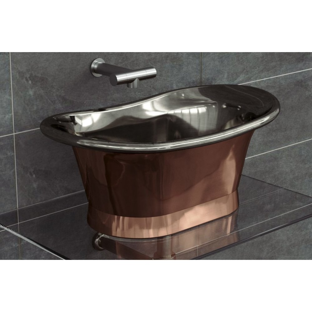 William Holland WH  copper countertop basin Bateau 660