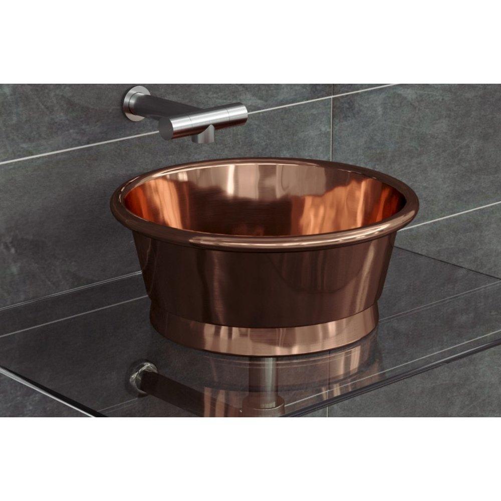 William Holland WH  copper countertop basin Rotundus 400