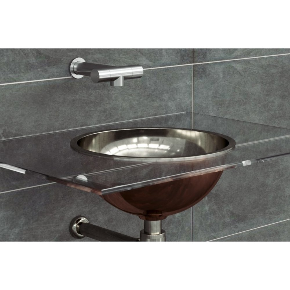 William Holland WH  copper countertop  basin Gyrus 305