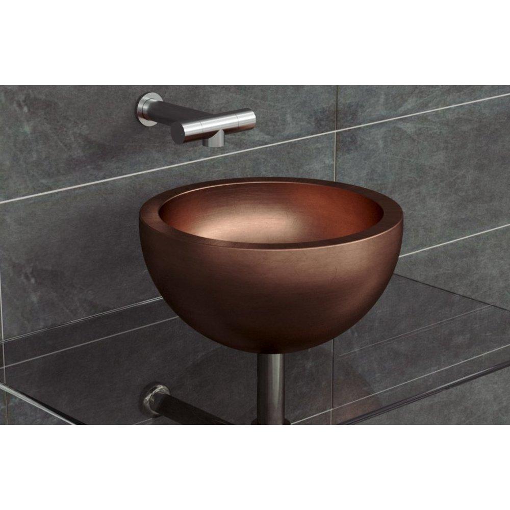 Moderne Metalen Opbouw Wastafel Perosa 360 Theclassichouse De Klassieke Badkamer En Keuken Specialist