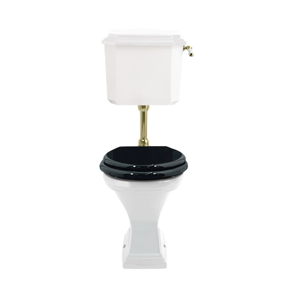 Imperial Deco Low level s-trap toilet with cistern