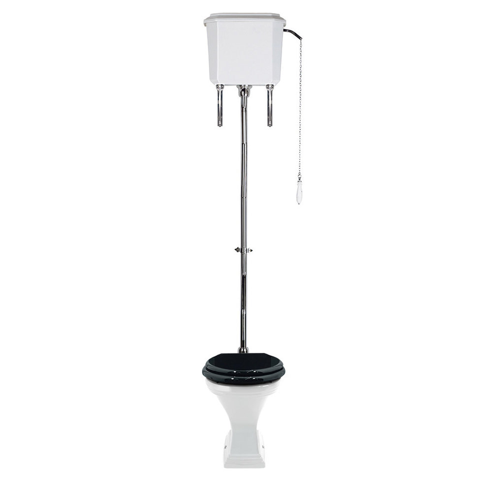 Imperial Deco High level s-trap toilet with cistern