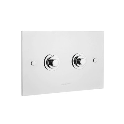 Diamond Dual Flush plate WC