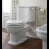 Sbordoni Palladio Duoblok toilet met porseleinen hendel