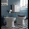 Sbordoni Neoclassica Halfhoog toilet met porseleinen hendel