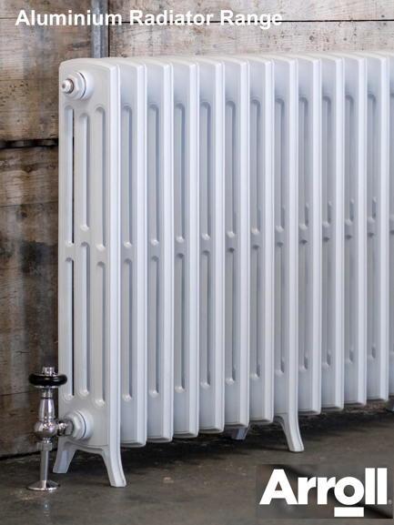Arroll aluminium radiators