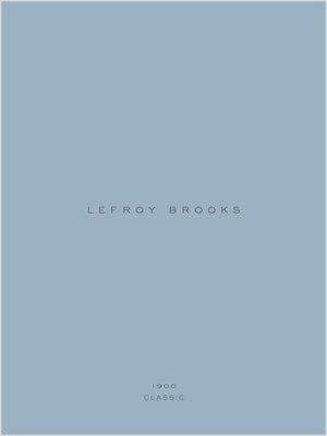 Lefroy Brooks Classic 1900