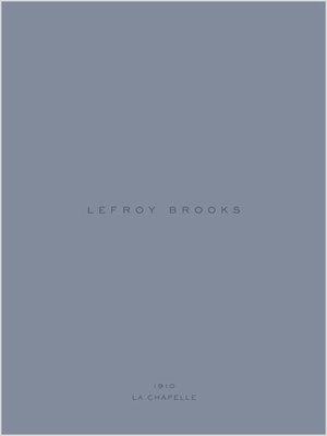 Lefroy Brooks 1910 La Chapelle