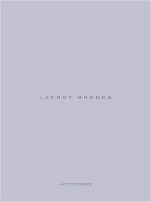 Lefroy Brooks Accessories