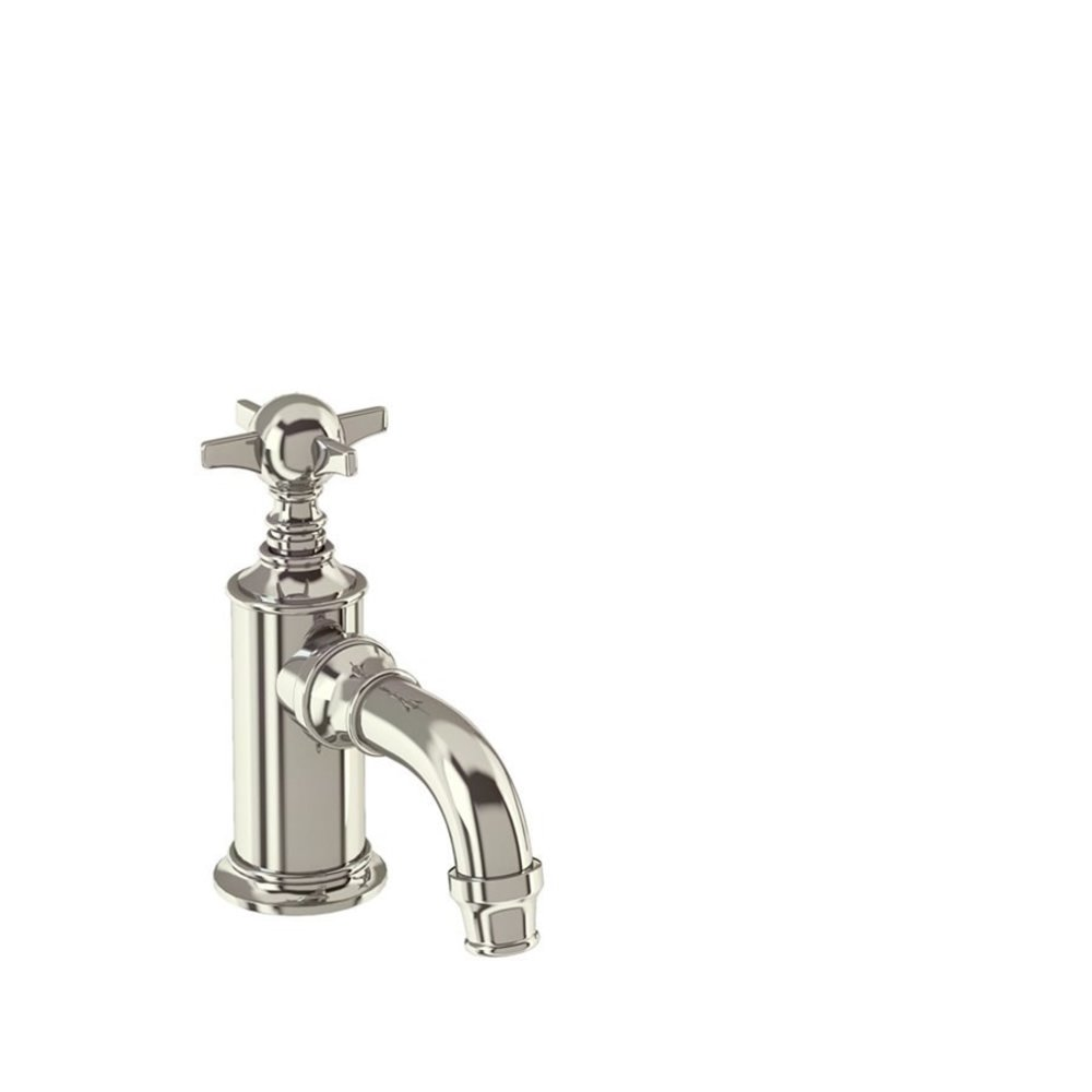 BB Arcade Cross 1-hole cloakroom basin pillar tap with crosshead, cold only - without waste