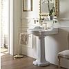 Sbordoni SB Palladio 71.5cm console basin with ceramic pedestal