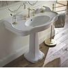 Sbordoni SB Palladio 100cm console basin with ceramic pedestal