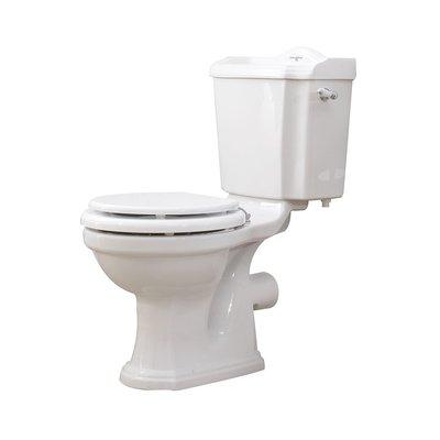 Edwardian Duoblok toilet met reservoir