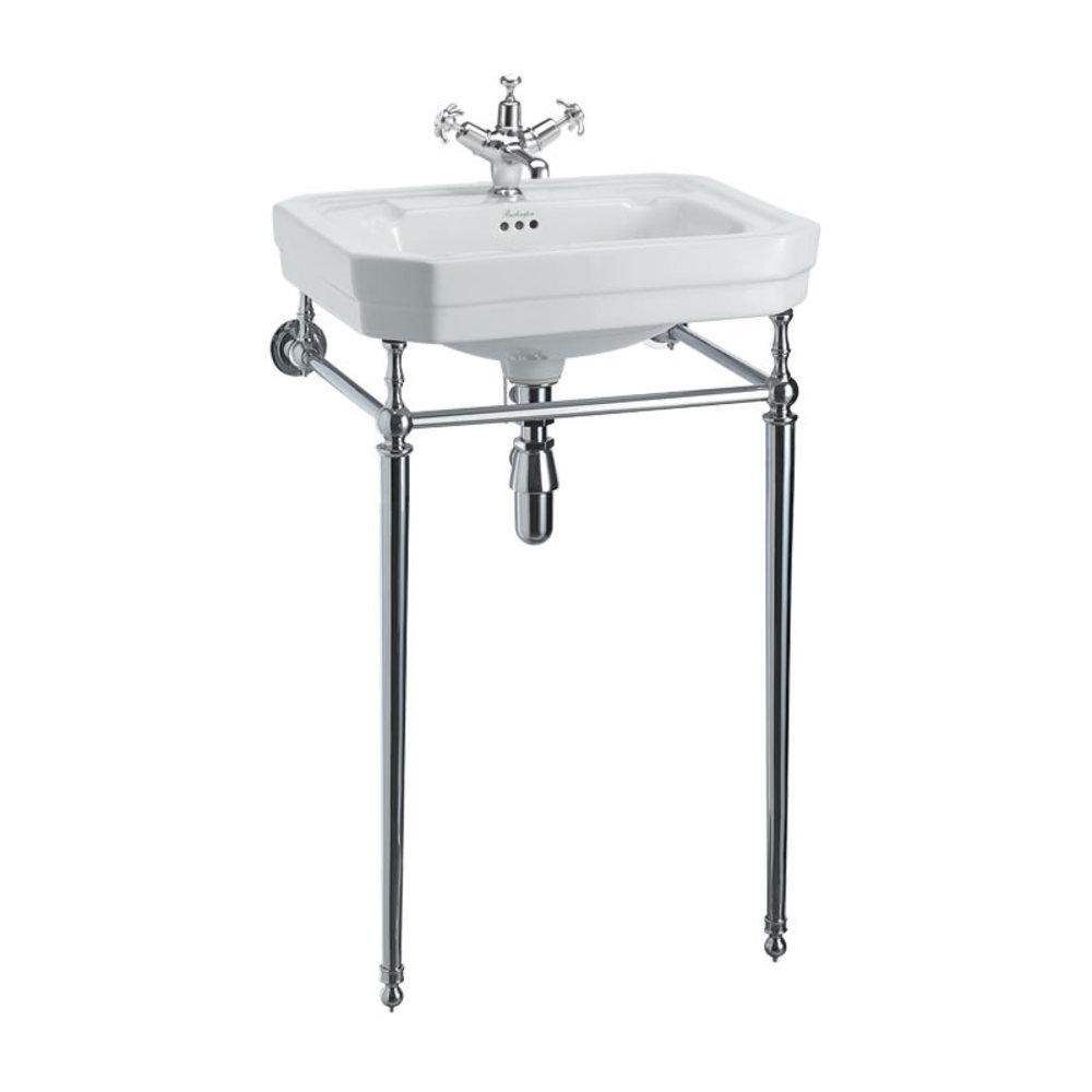 Burlington Victorian 56cm basin with chrome stand