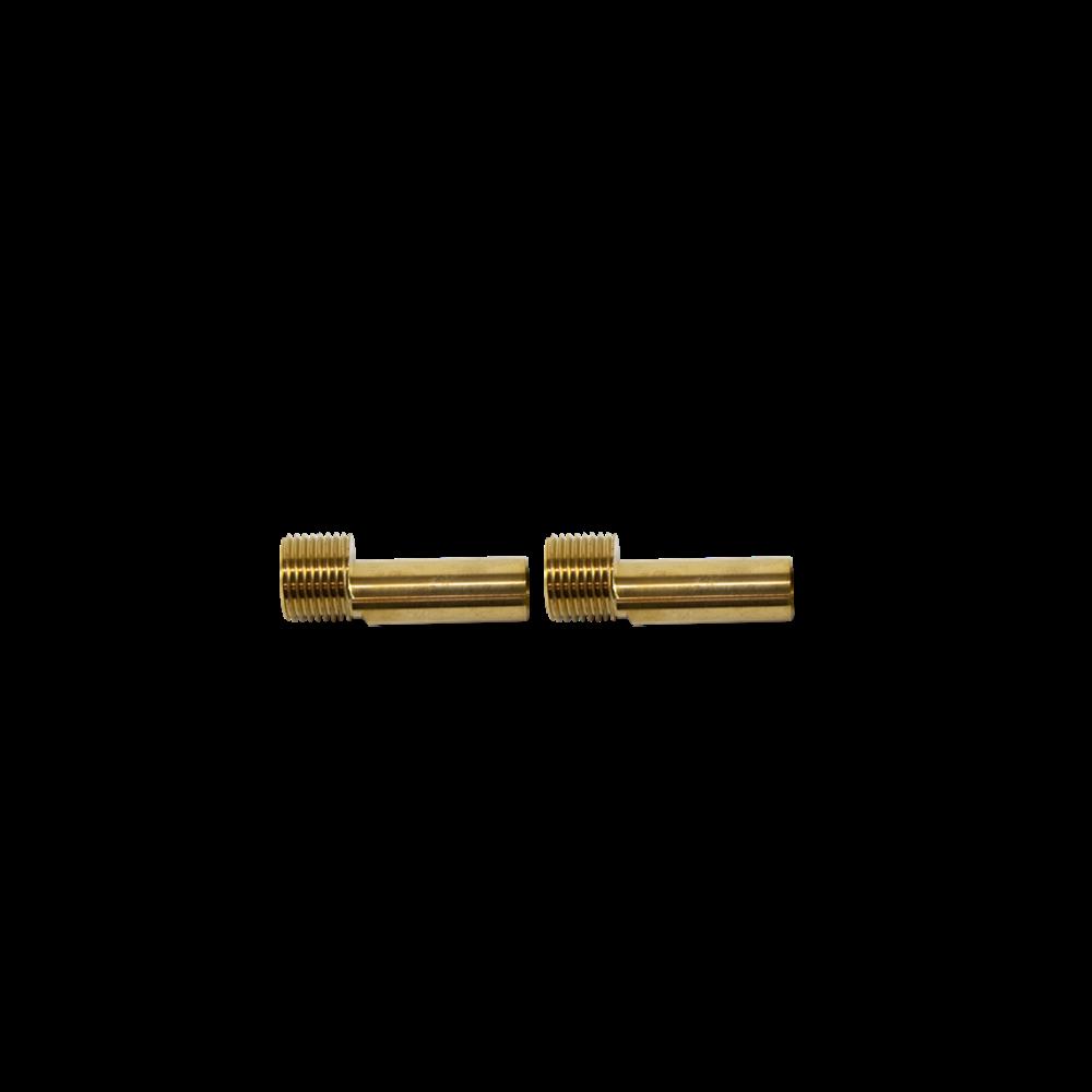 "Burlington  Burlington Adaptor pair G1/2"" male thread to 15mm pipe BURSP376"