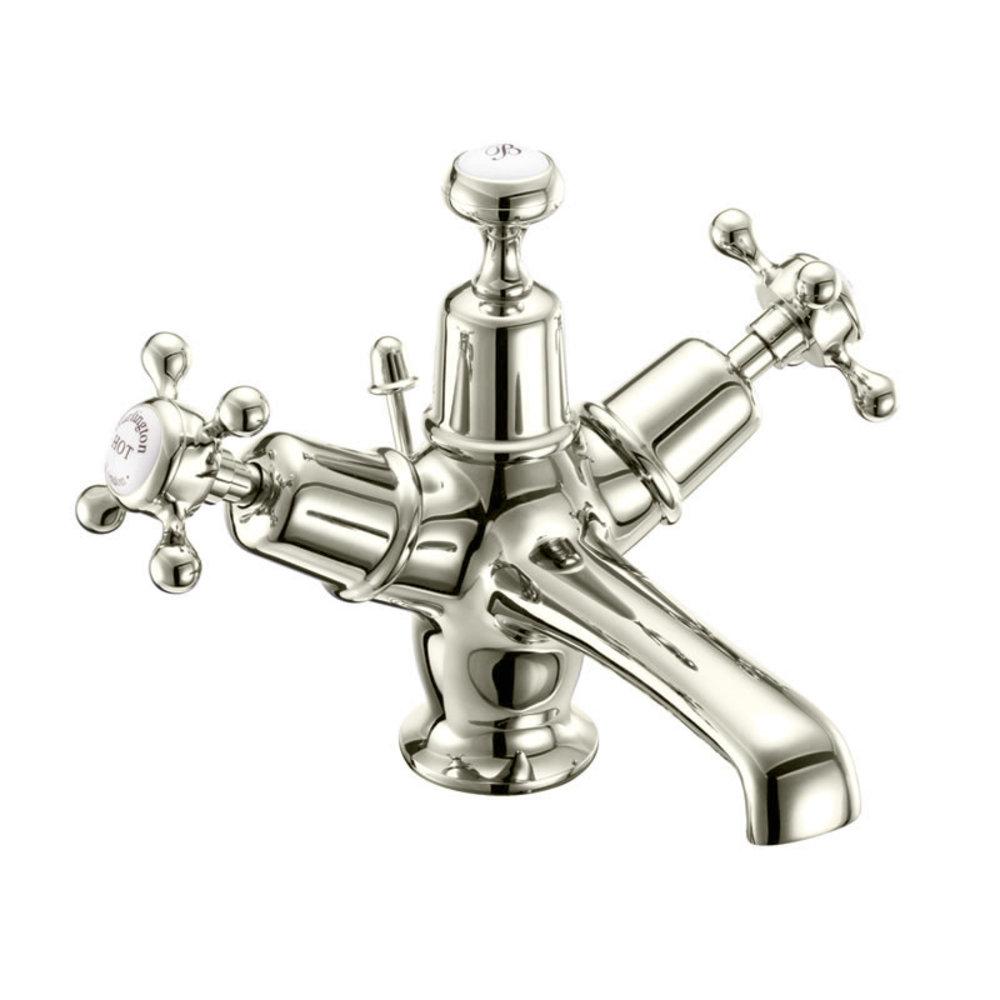 BB Edwardian Claremont 1-hole basin mixer with pop-up  waste
