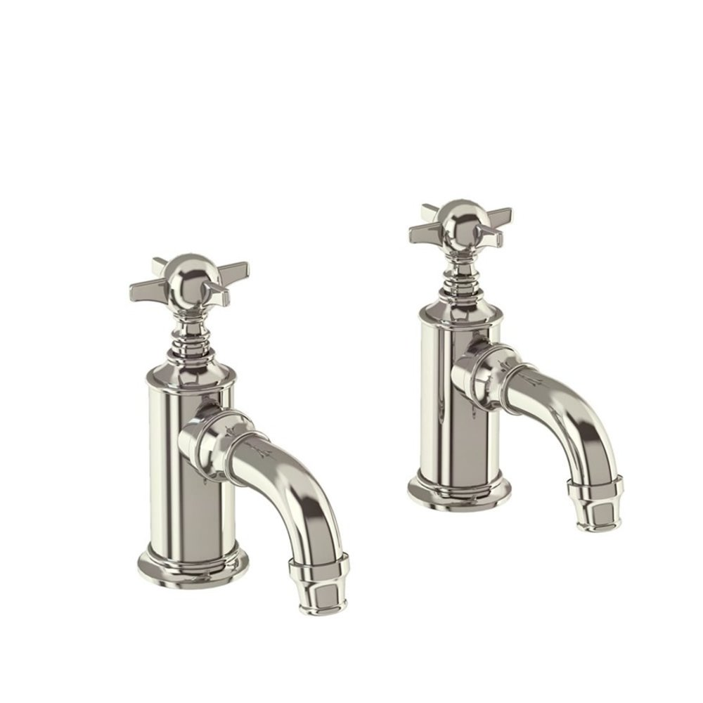 BB Arcade Cross Arcade cloakroom basin pillar tap with crosshead - without waste