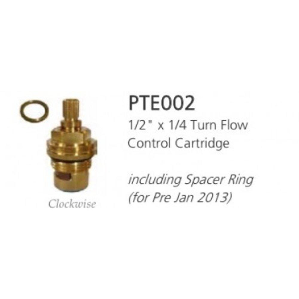 """Lefroy Brooks LB 1/2""""x1/4T flow control cartridge PTE002"""