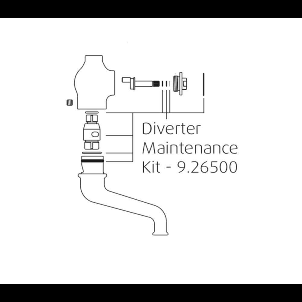 Perrin & Rowe PR bath shower diverter kit 9.26500