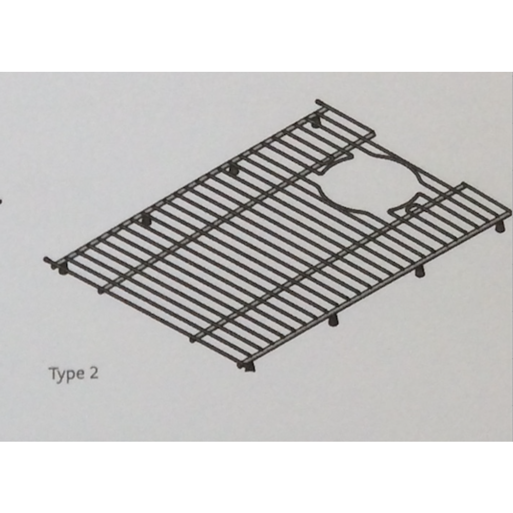 Shaws Shaws sink grid type 2