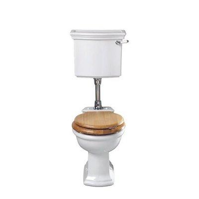 Bergier halfhoog toilet met reservoir