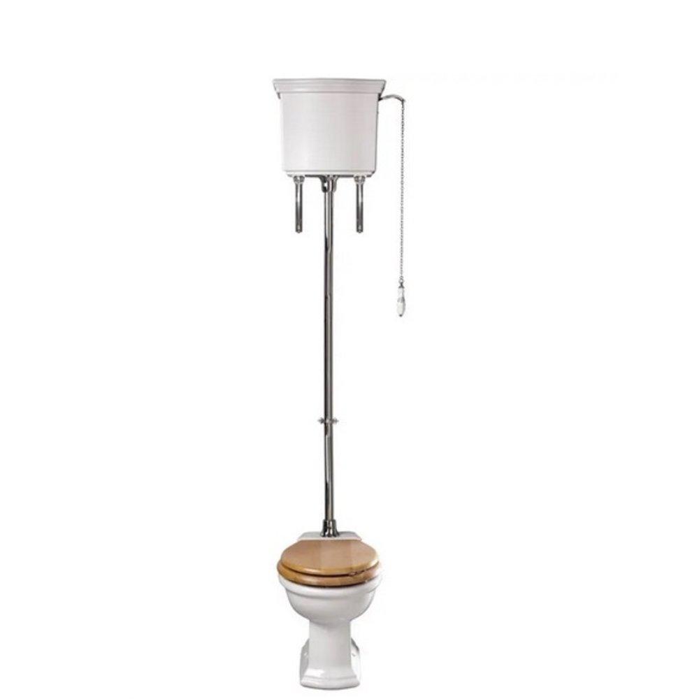 Imperial Bergier hooghang toilet met porseleinen hendel, achteruitlaat (PK)