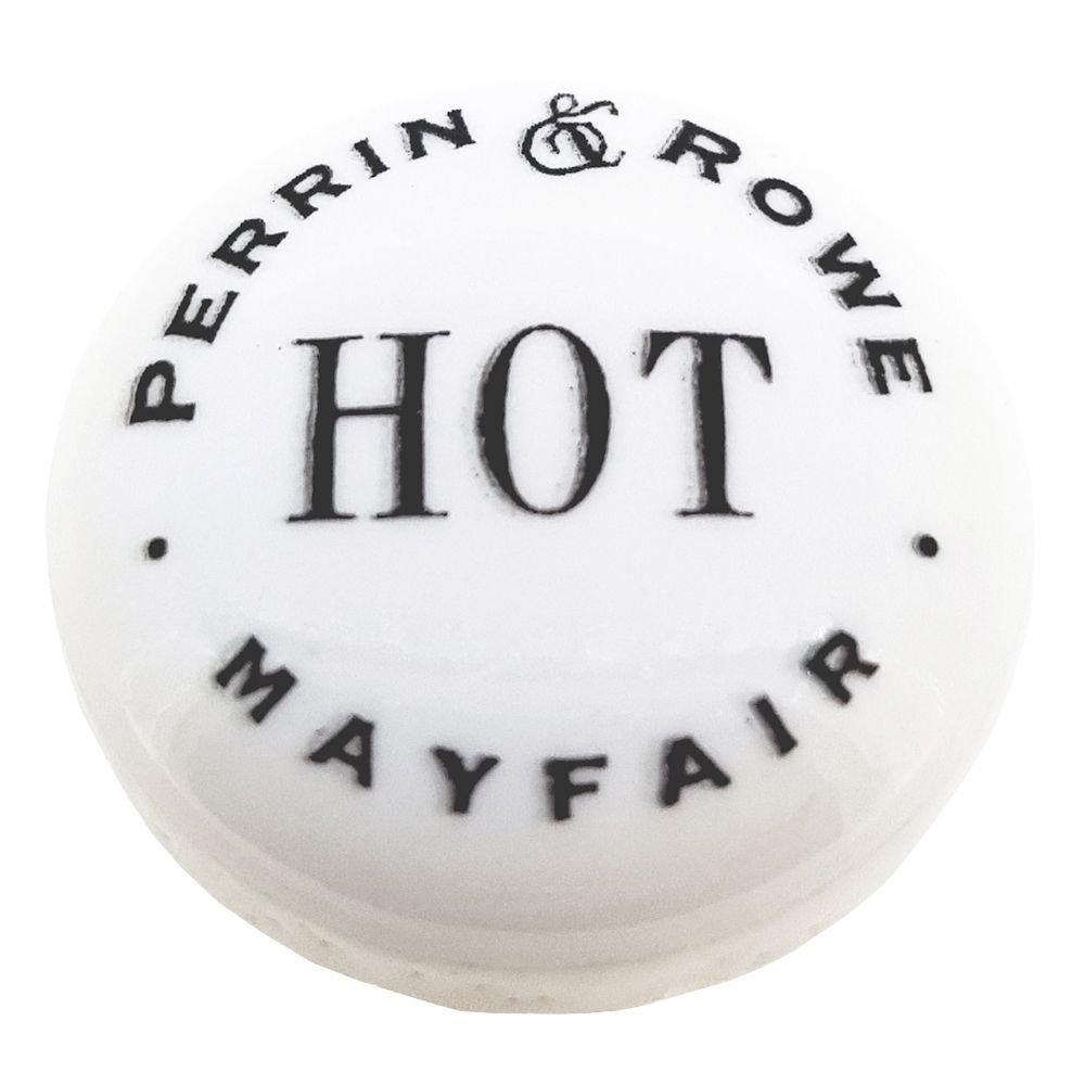 Perrin & Rowe PR ceramic flat index 22mm 9.02474 (hot)  - 9.02475 (cold)
