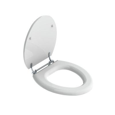 La Chapelle White toilet seat LB7741