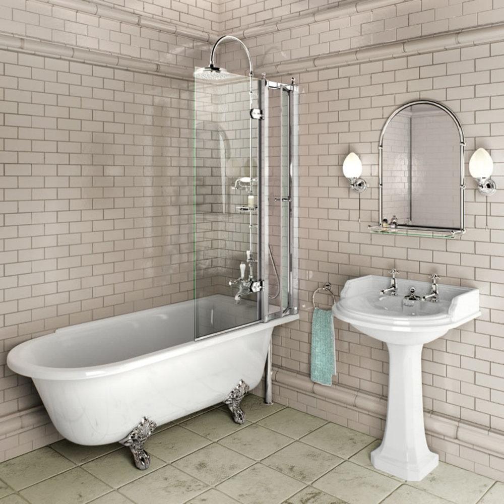 Burlington BU badscherm met of zonder toegangspaneel