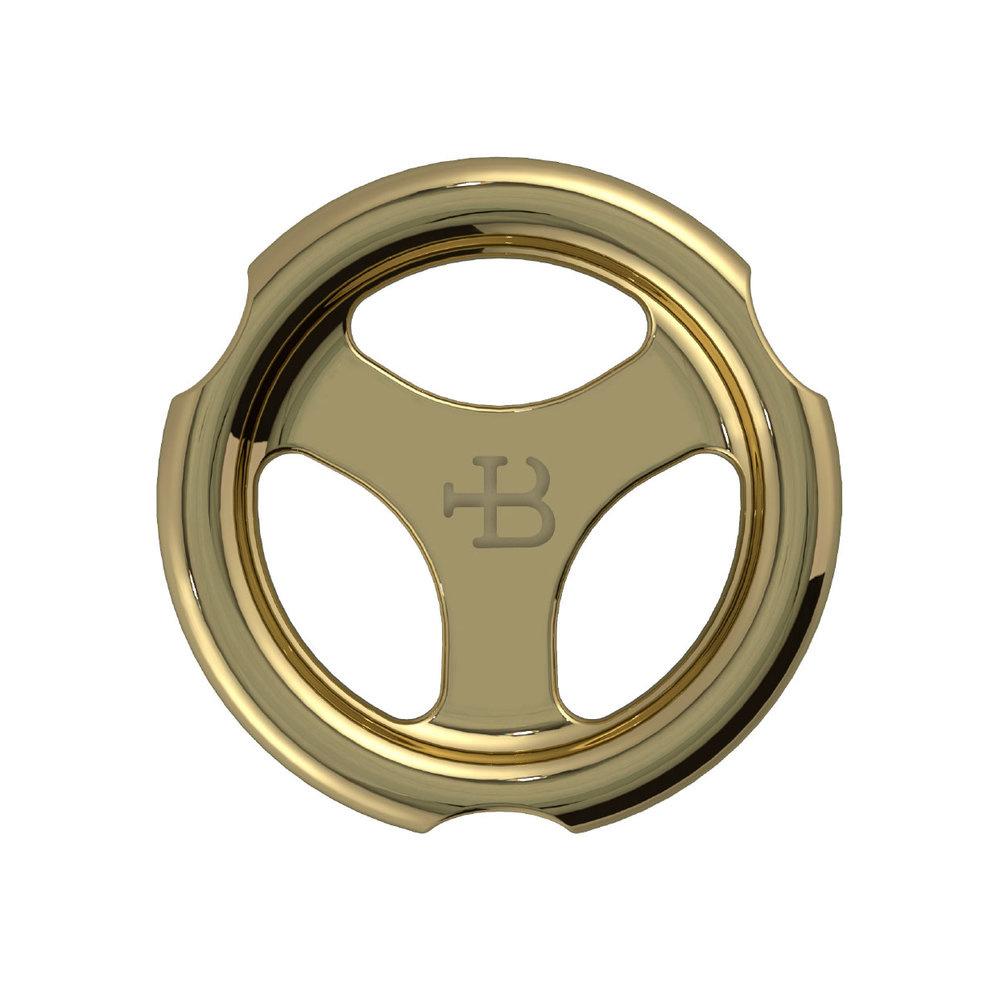 Lefroy Brooks polished brass