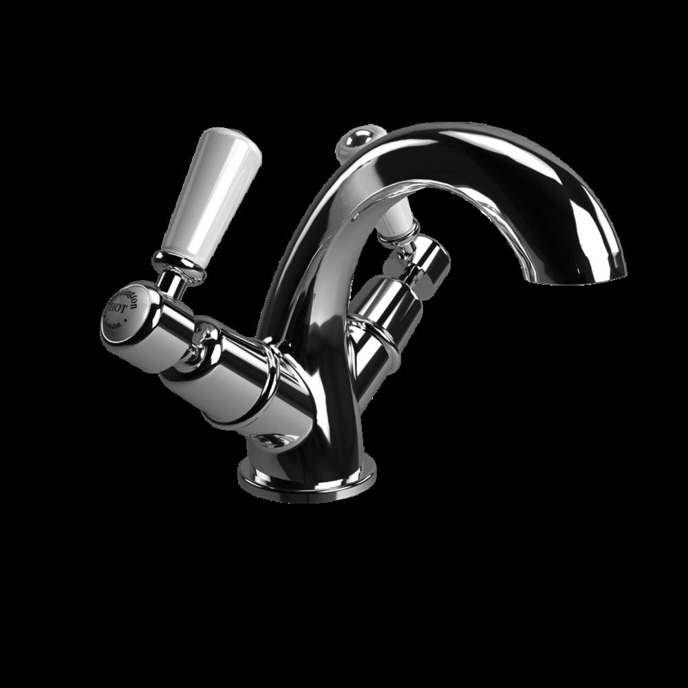 BB Edwardian Kensington 1-hole basin mixer (without waste) KE45-QT