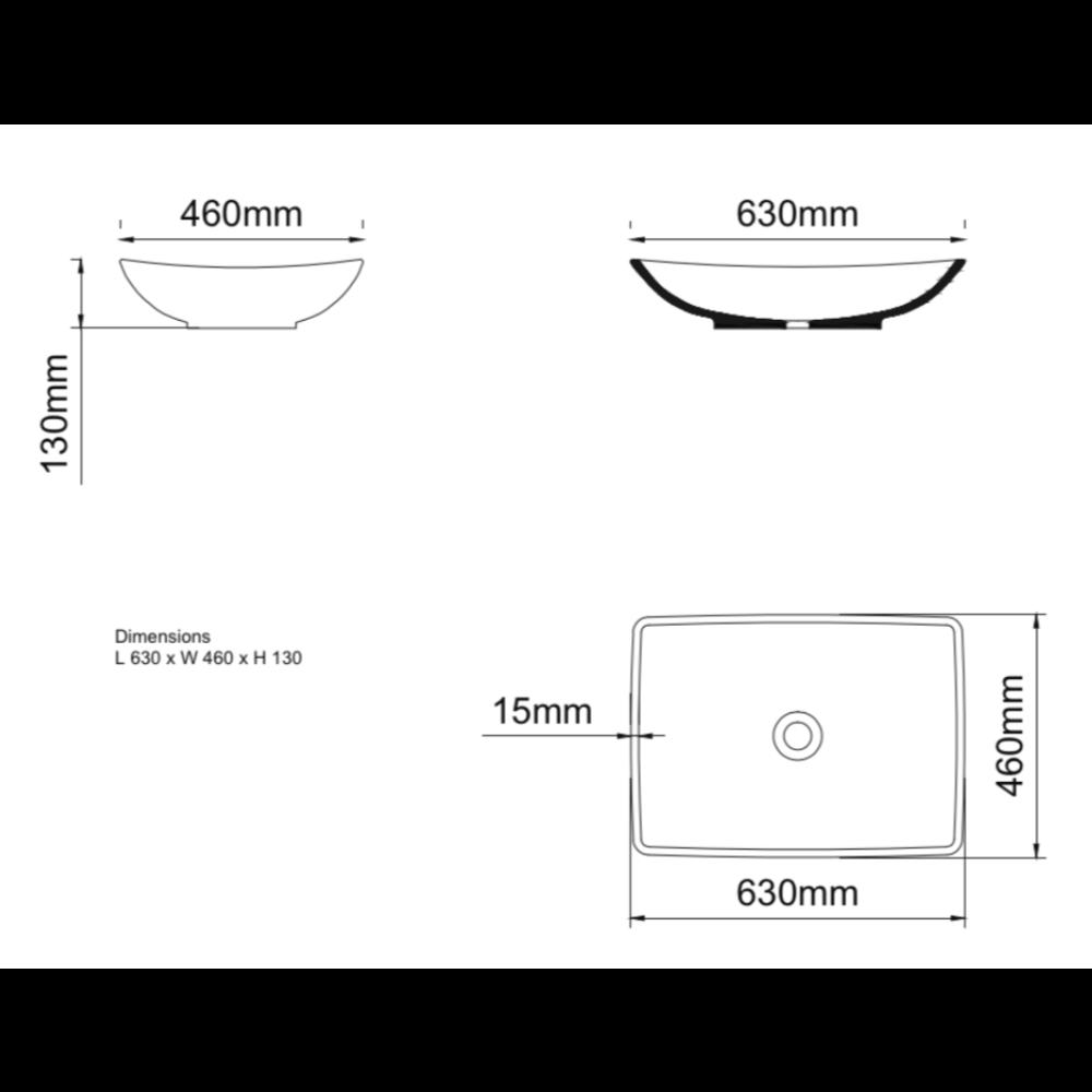 Ashton & Bentley A&B Contemporary opbouw wastafel Zoi ZOI