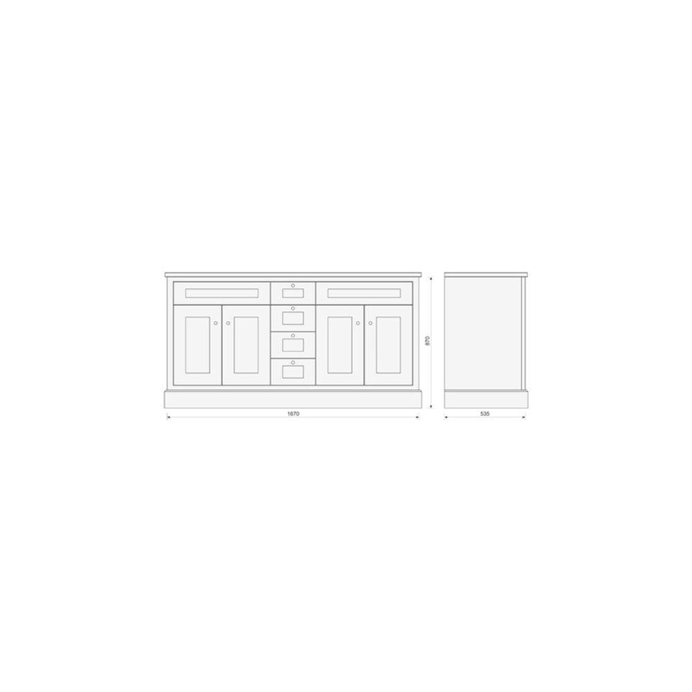 TCH Shaker Bathroom vanity Shaker  Greenwhich SG170