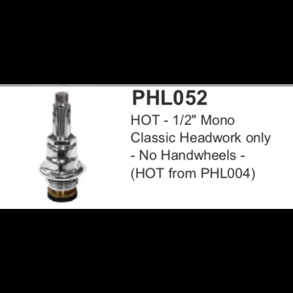 "Lefroy Brooks LB 1/2"" mono headwork only (HOT) PHL052"