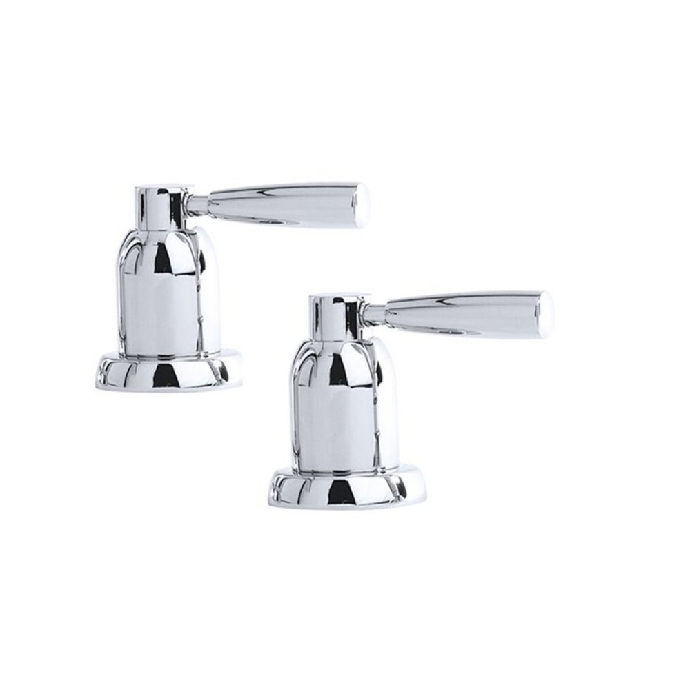 "Perrin & Rowe Langbourn Langbourn 3/4"" deck valves (pair) E.3056"
